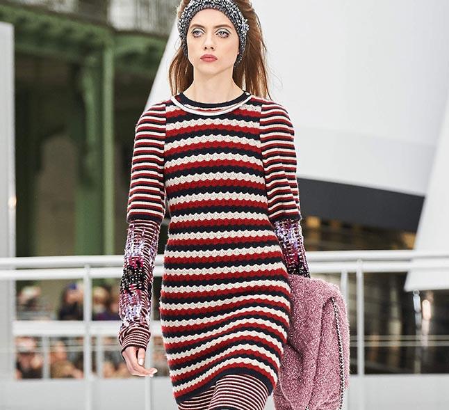 372e1e13e7b11ed Вязаная мода 2018: платья, юбки, жакеты - коллекция идей на Verena.ru