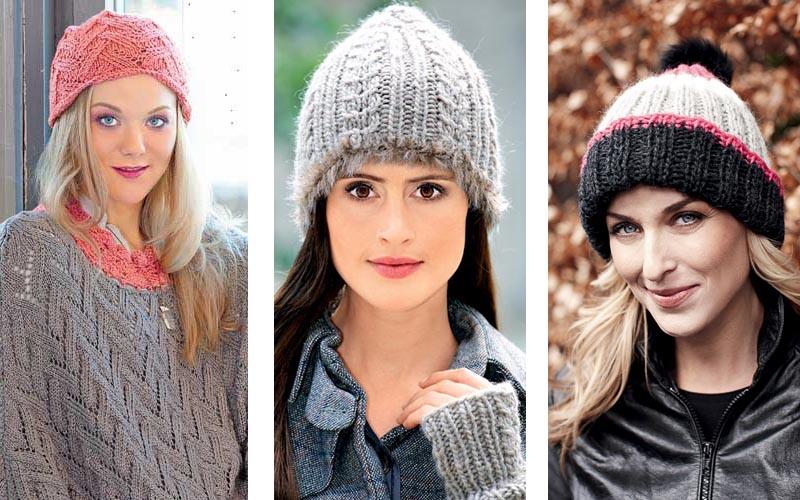 как носить вязаные шапки советы стилиста коллекция идей на Verenaru