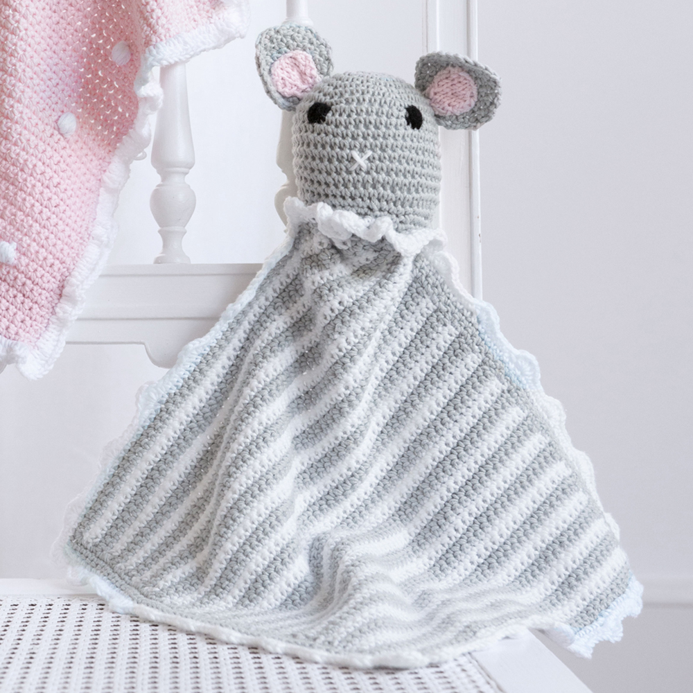 игрушка платок мышка схема вязания крючком вяжем игрушки на