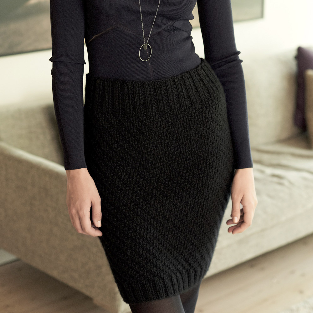 вяжем юбку для девочки спицами схема