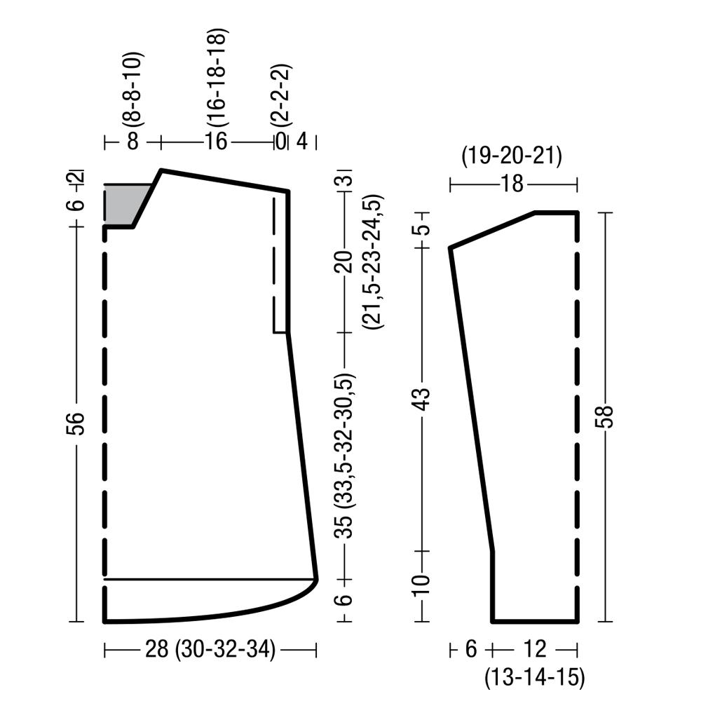 Выкройка для вязаного джемпера фото 888
