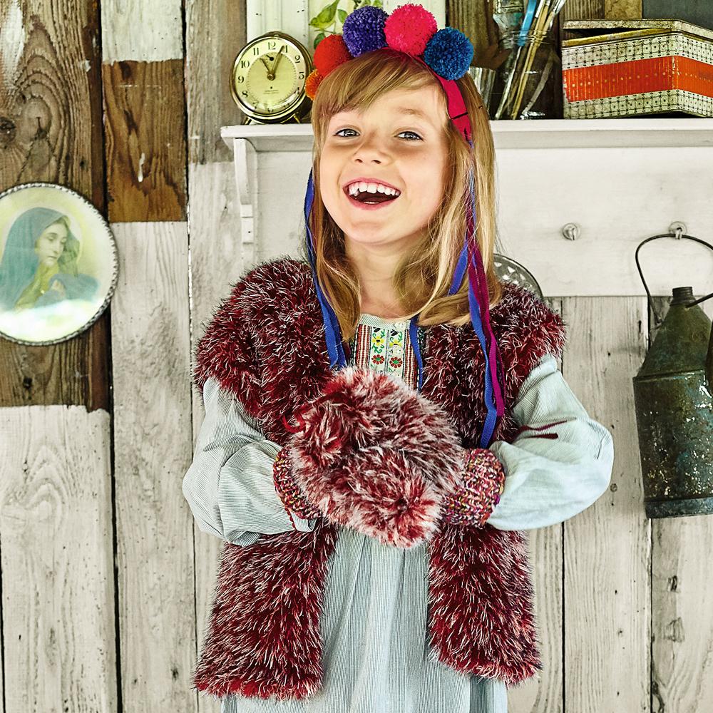 схема вязания спицами жилетки для девочки