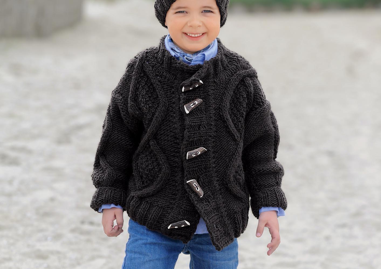 Курточка для мальчика спицами 13