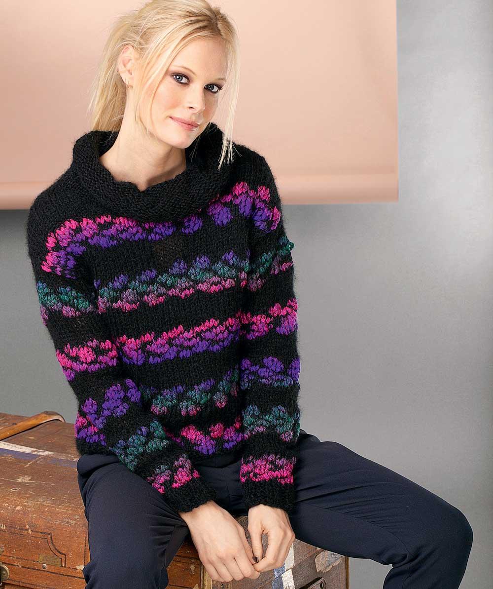 схемы для вязания однотонного свитера для мальчика 4