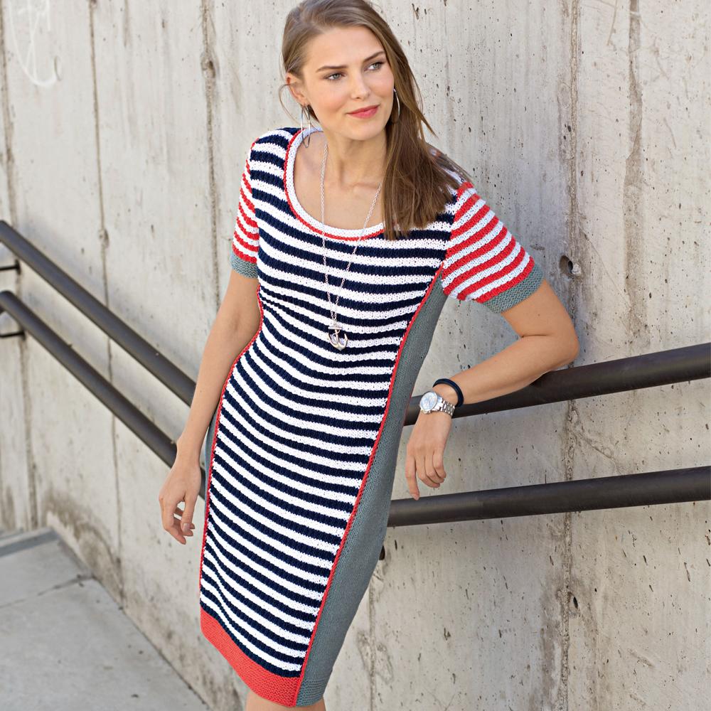 5d64f140344 Платье с боковыми вставками - схема вязания спицами. Вяжем Платья на ...