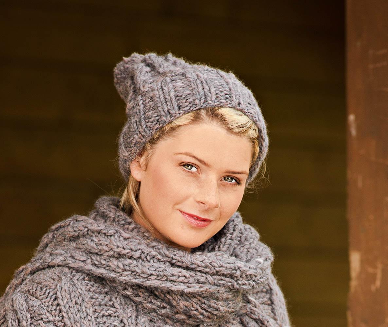 схема вязания шапок с аранами