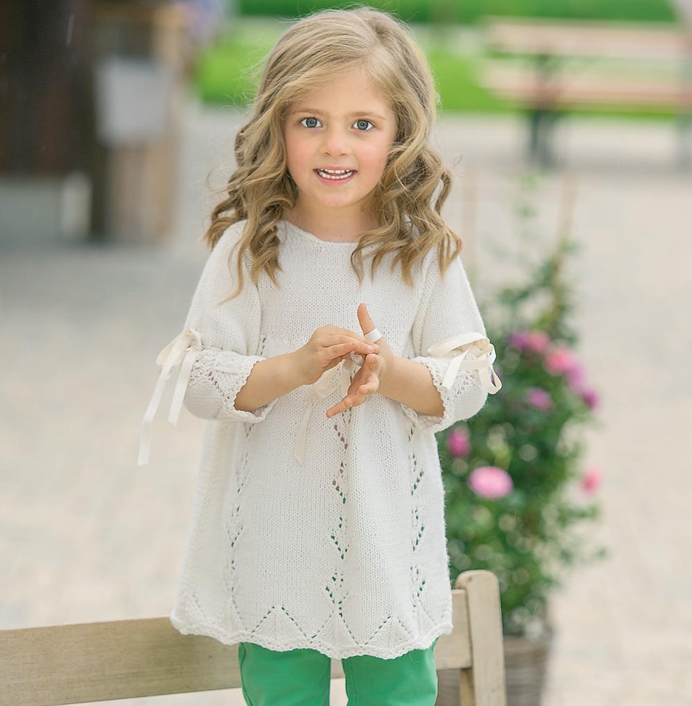 журнал о вязании спицами для детей