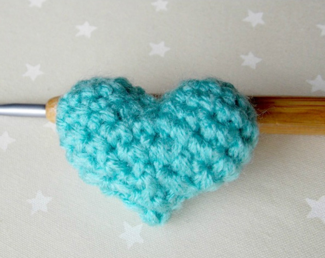 сердечко амигуруми схема вязания крючком вяжем игрушки на Verenaru