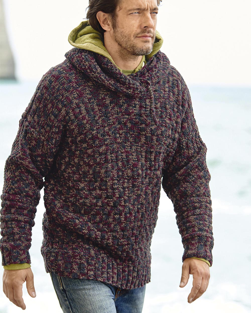 Вязание спицами для мужчин модные модели с описанием