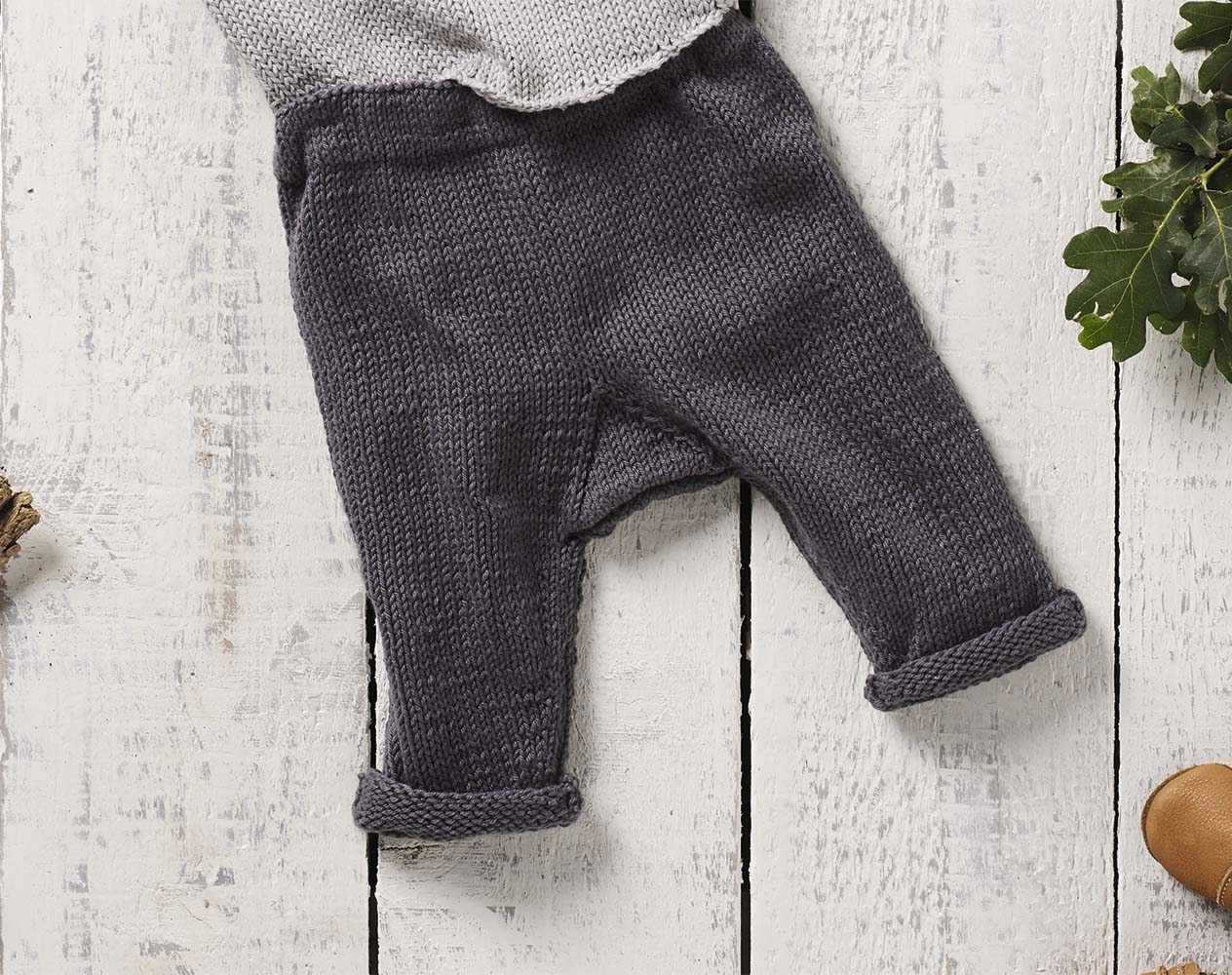 Схема вязания спицами штанишек фото 13
