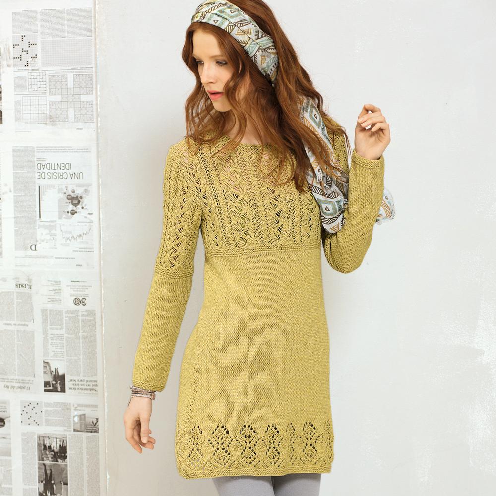 Мини-платье с сочетанием узоров
