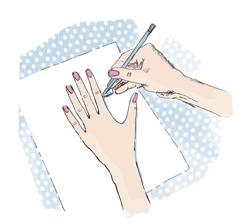 Как вязать варежки без клина большого пальца