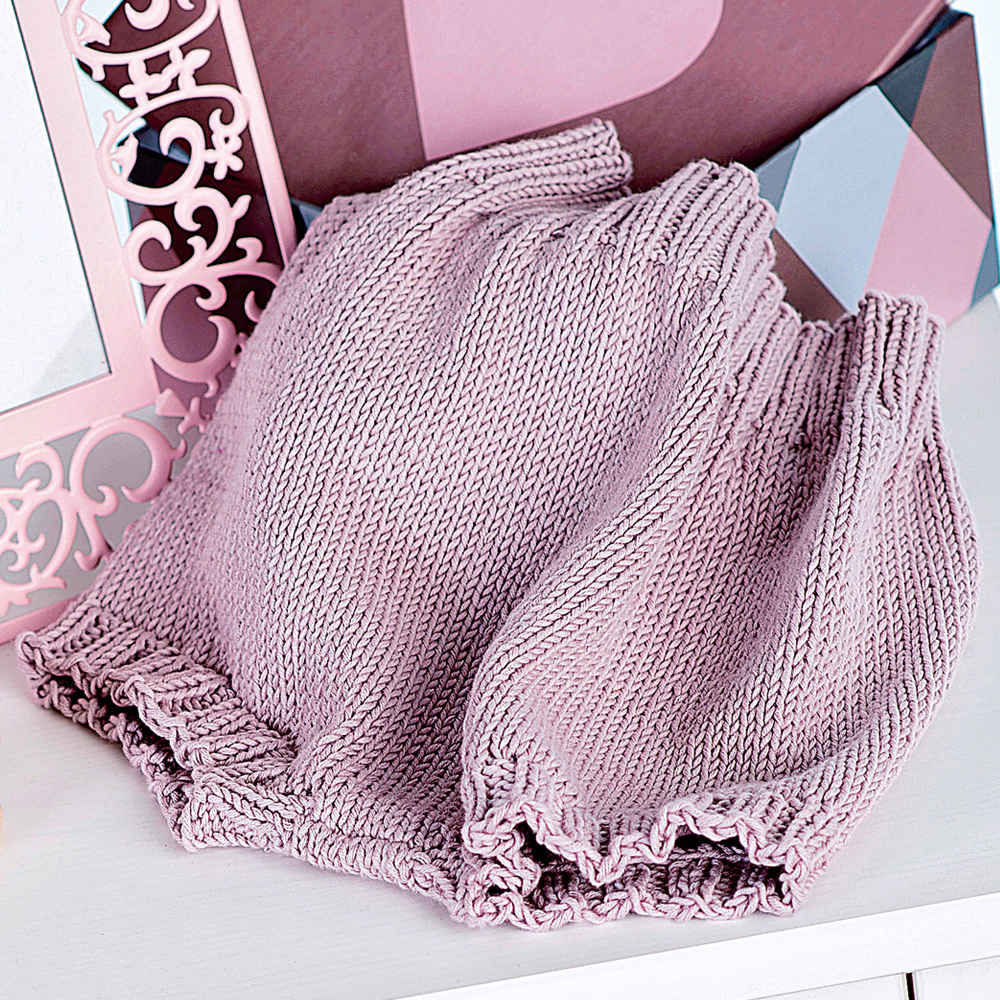 штанишки с широкой резинкой схема вязания спицами вяжем брюки на