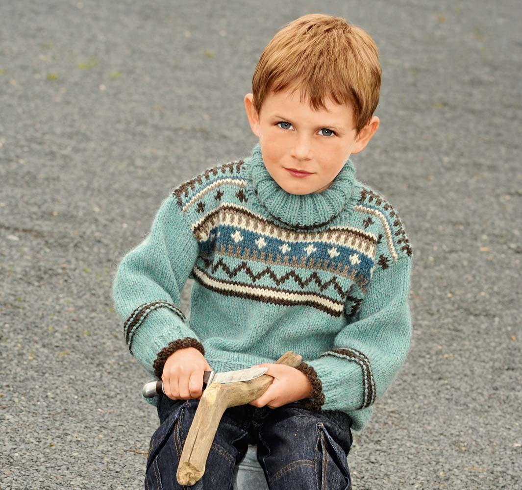 перчатки с норвежским узором схема вязания