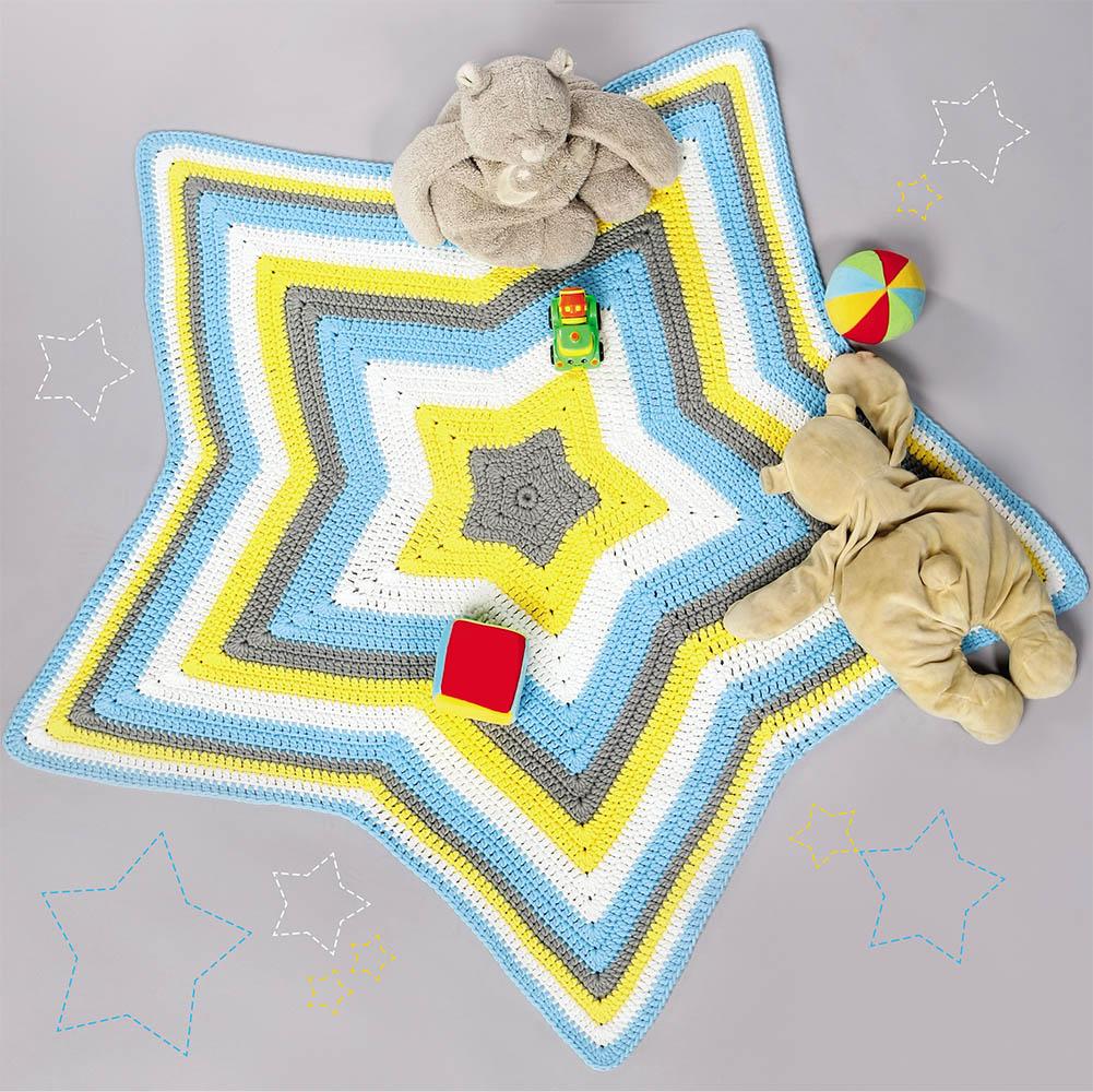 коврик в форме звезды схема вязания крючком вяжем коврики на