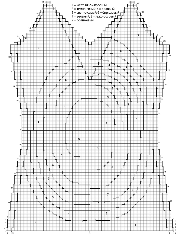 Топ с геометрическим мотивом
