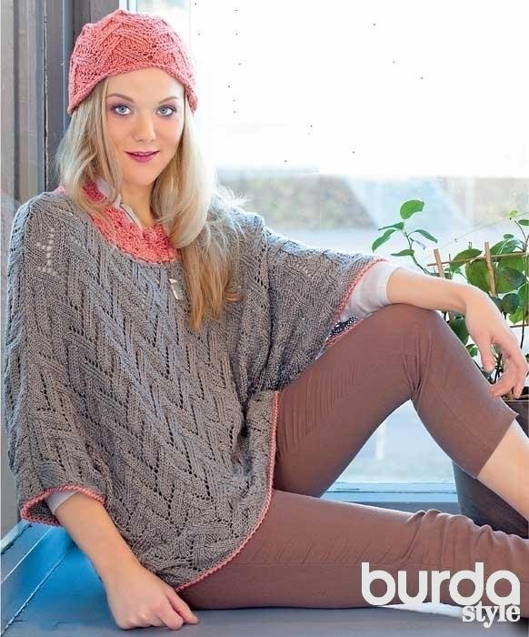 пуловер летучая мышь схема вязания спицами вяжем пуловеры на