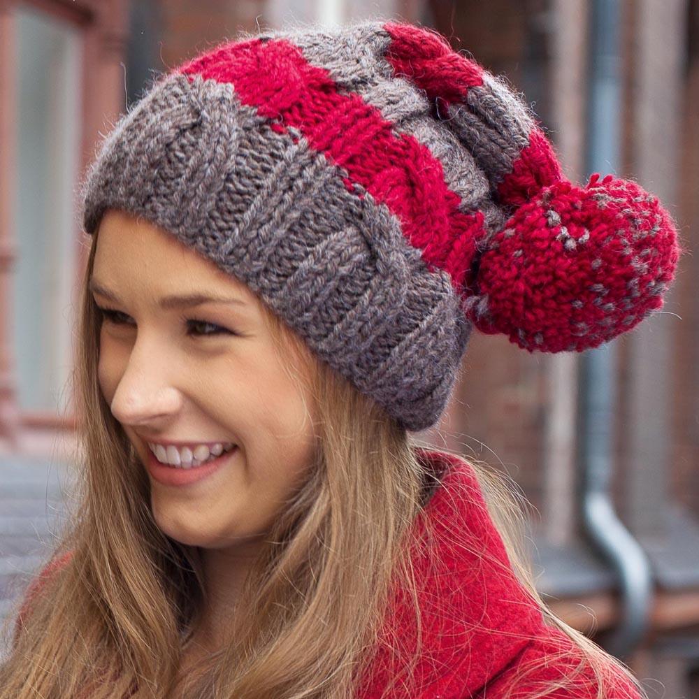 Инструкция вязания спицами шапок