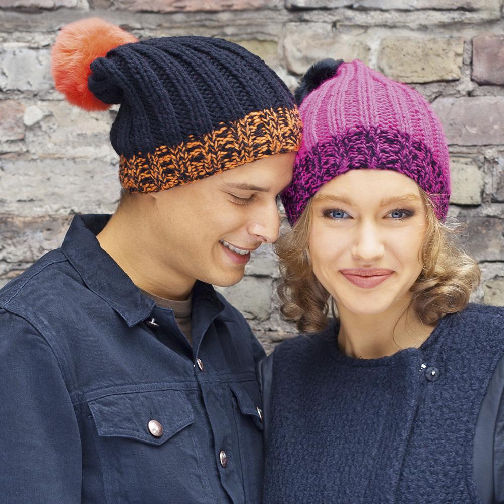 вязаные шапки с помпоном для мужчин и женщин коллекция идей на