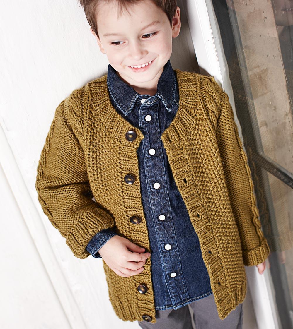 Вязание кофт крючком на мальчика