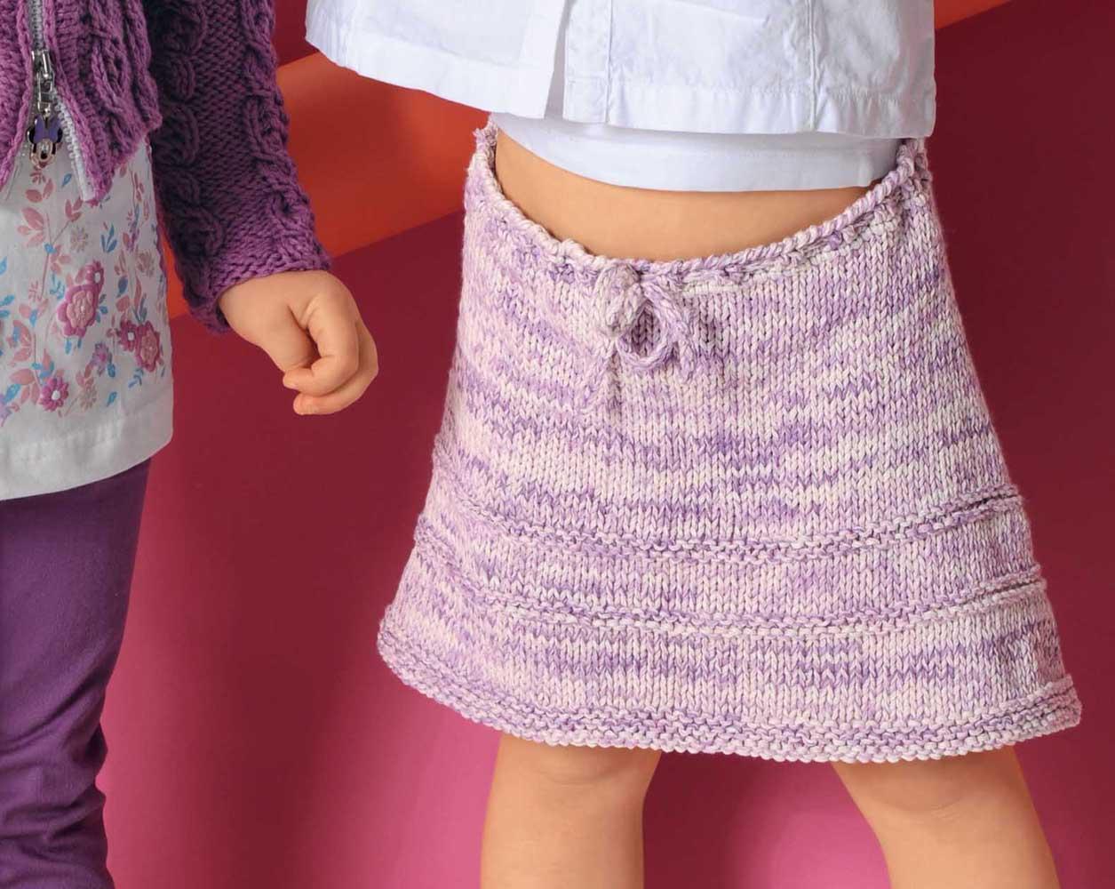 Описание расклешенной юбки