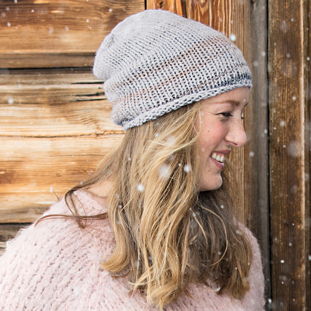 простая шапка бини схема вязания спицами вяжем шапки на Verenaru