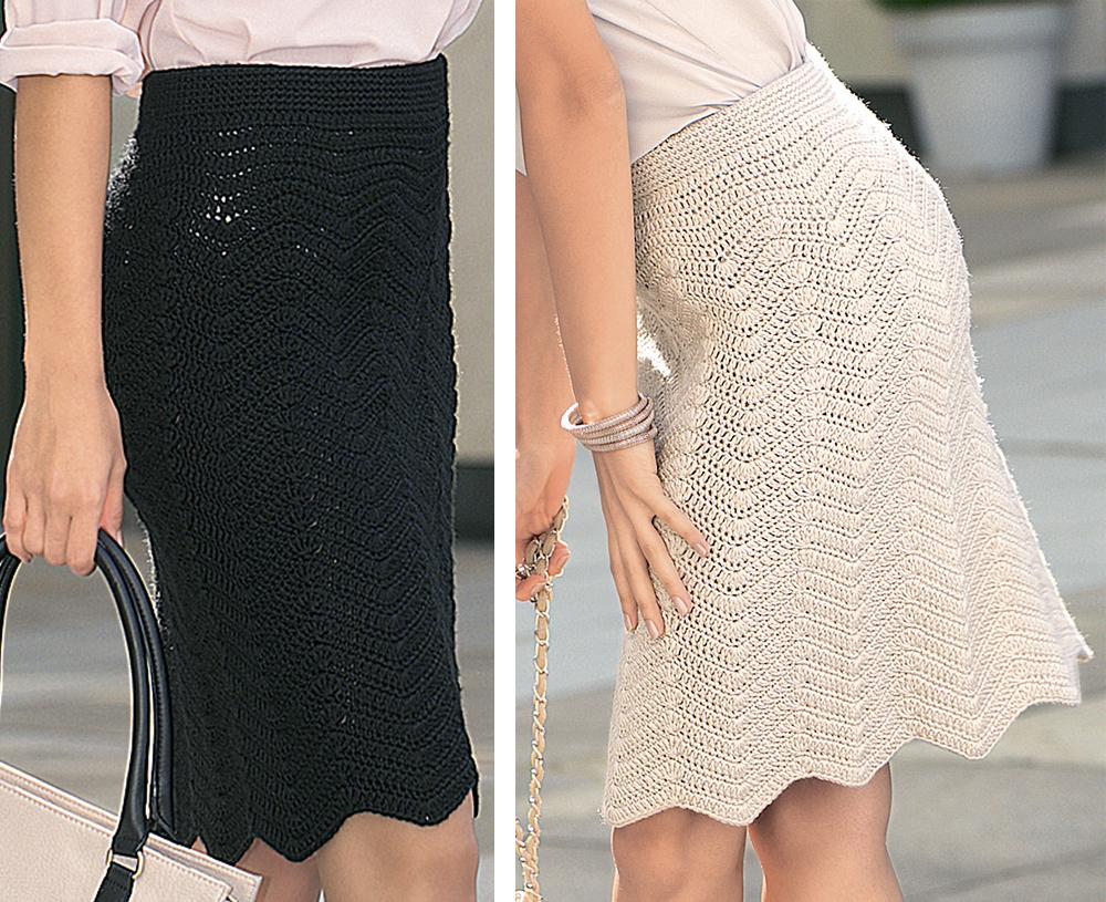 Схема юбки вязанной крючком фото 469