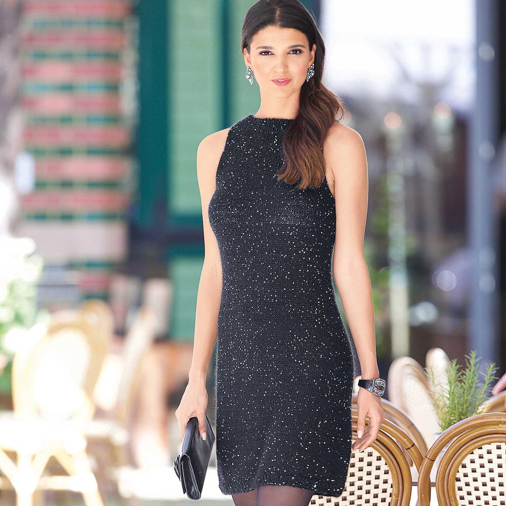 Элегантное платье без рукавов