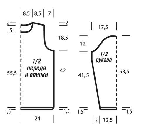 Схема крепления шнуров