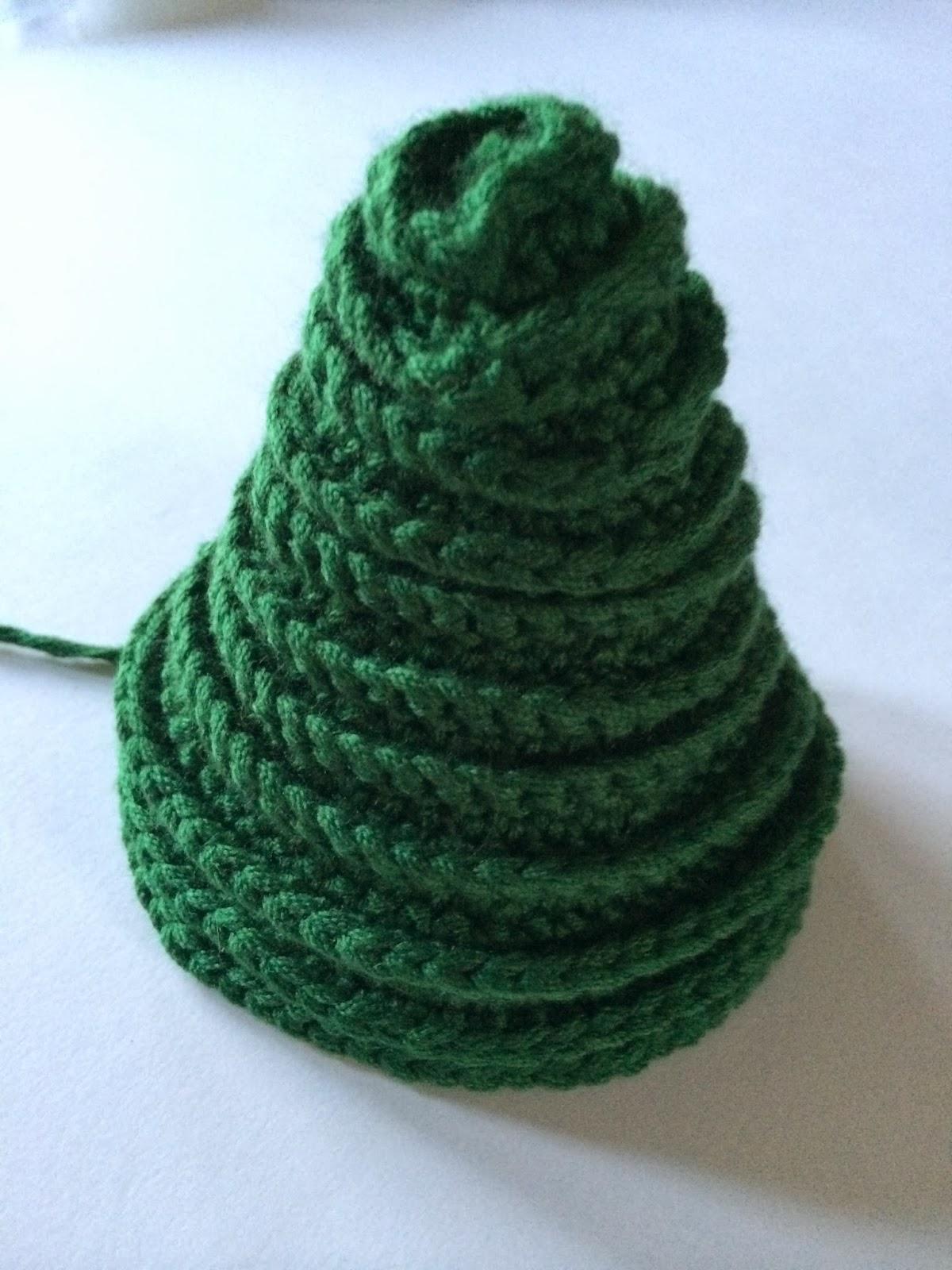объемная елочка связанная крючком схема вязания крючком вяжем