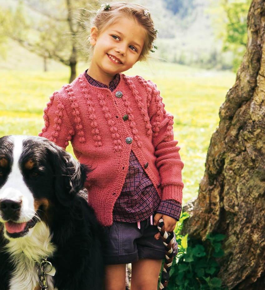 вязание крфт спицами для девочек 2 лет со схемами