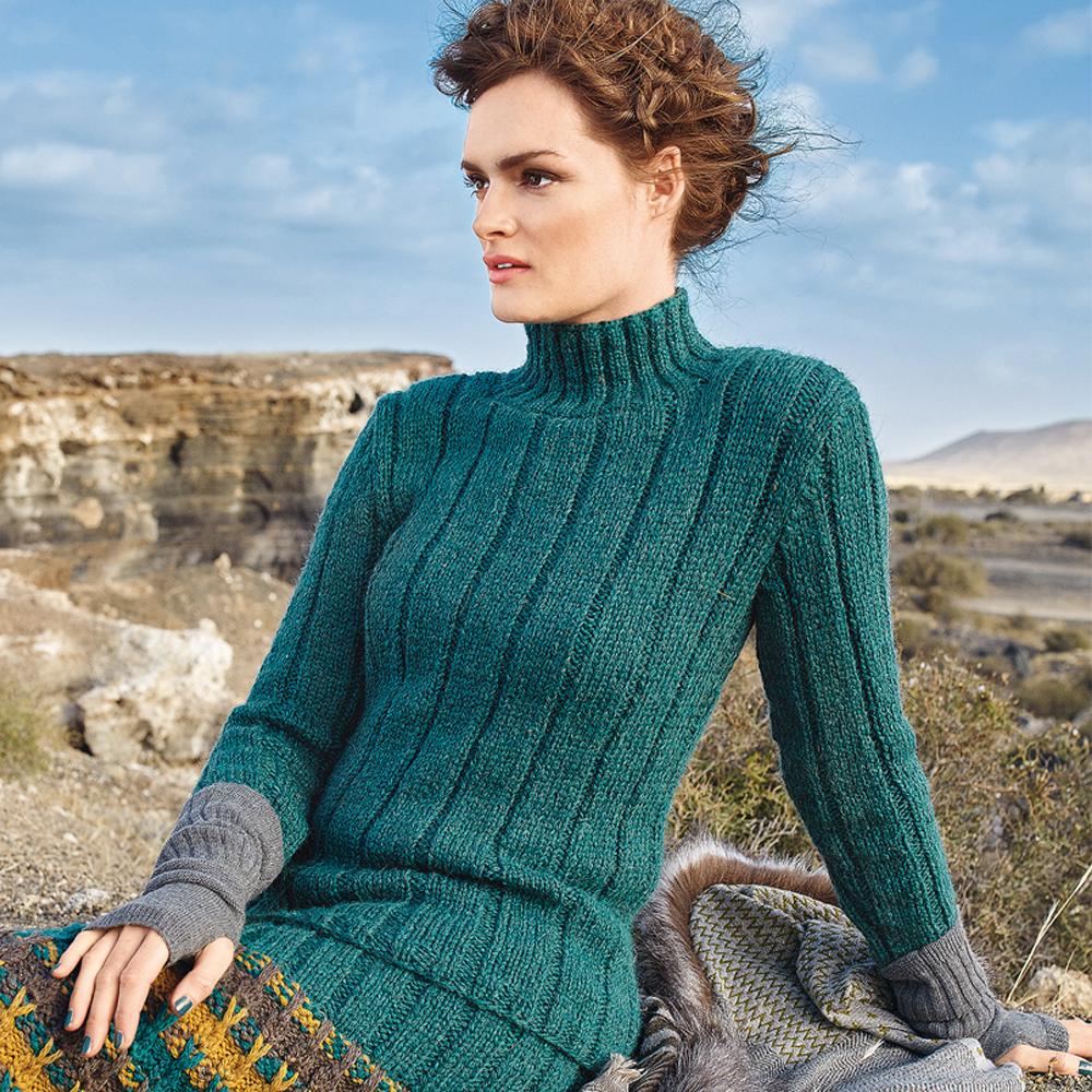 свитер в резинку схема вязания спицами вяжем свитеры на Verenaru