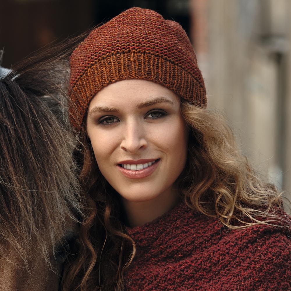 схемы вязания зимних детских шапок для девочки