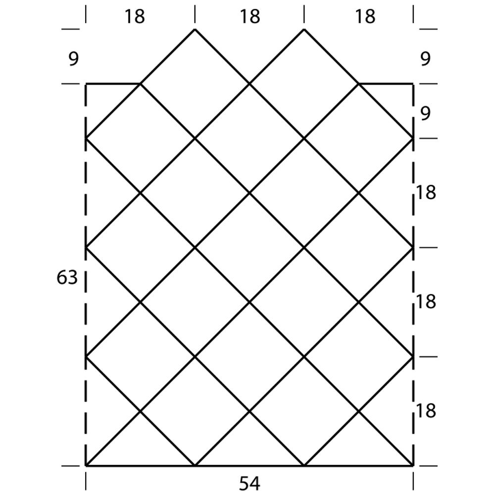Мини-платье из ажурных квадратов