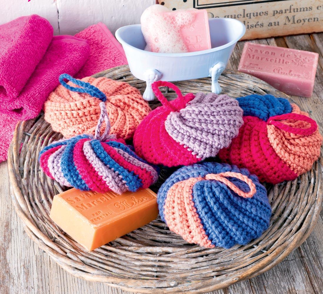 схема вязания напольной подушки крючком