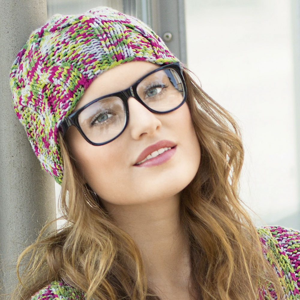 вязание спицами шапок узоры и схема