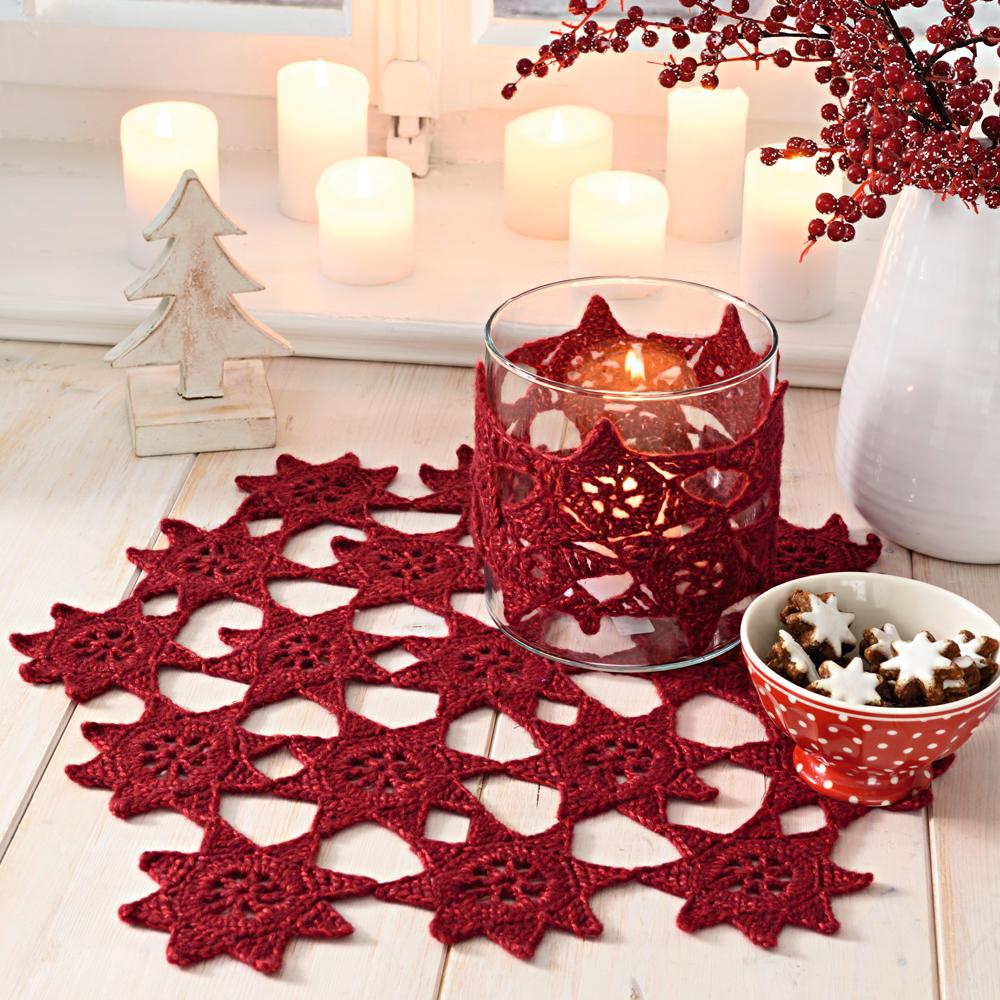 смотреть схема вязание крючком рождественская звезда