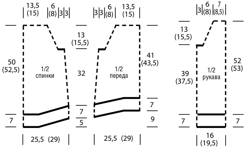Связанная по кругу туника