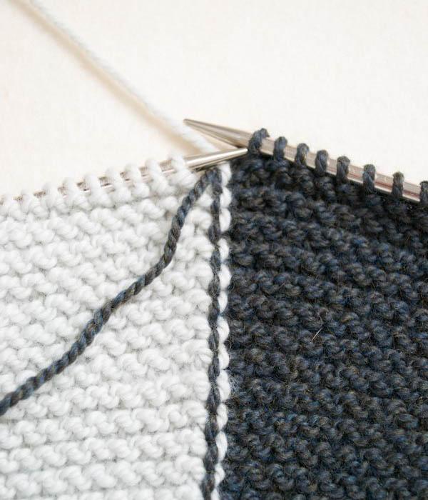 Вязание в технике интарсии для новичков