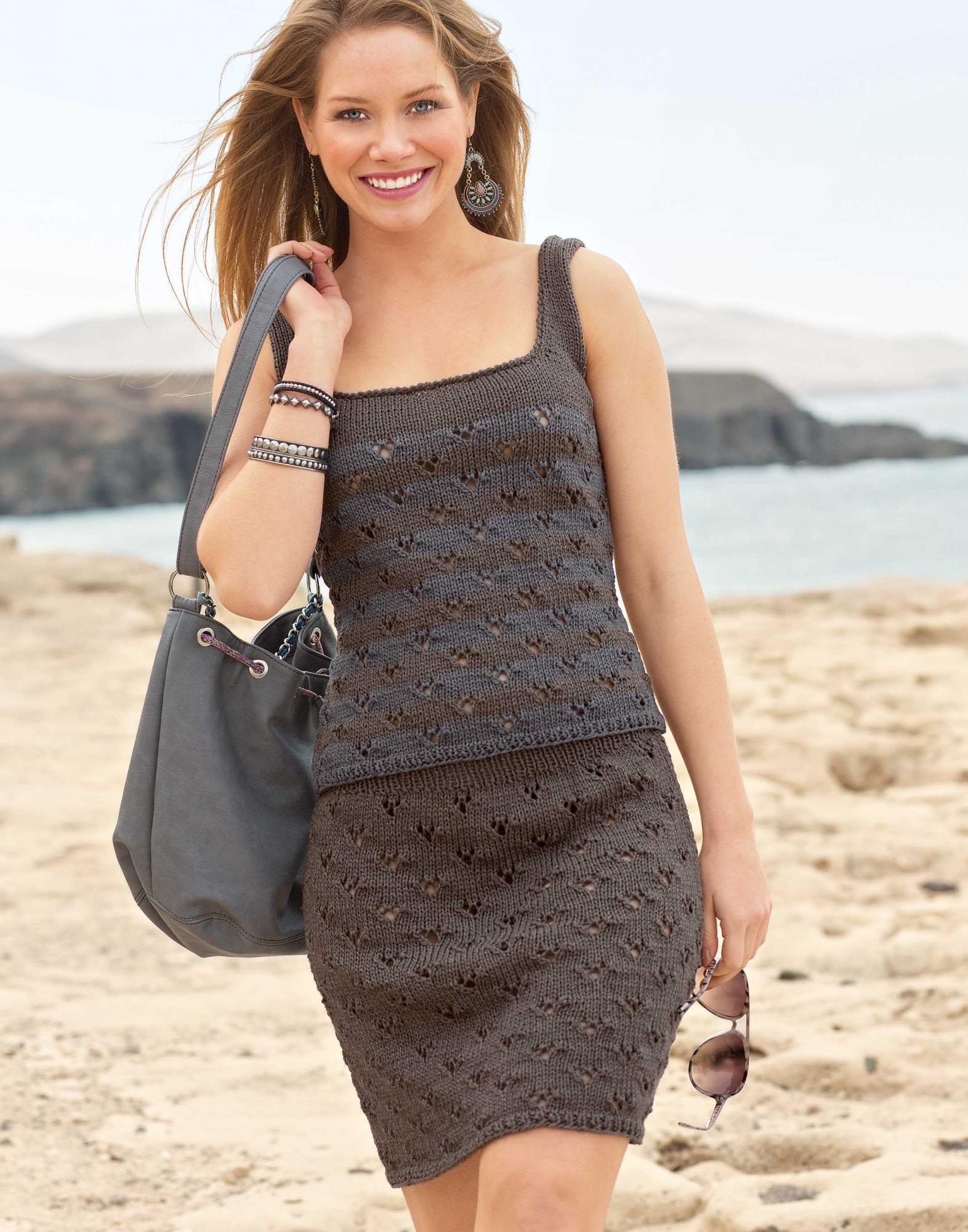 Барби платье вязание на крючок 25