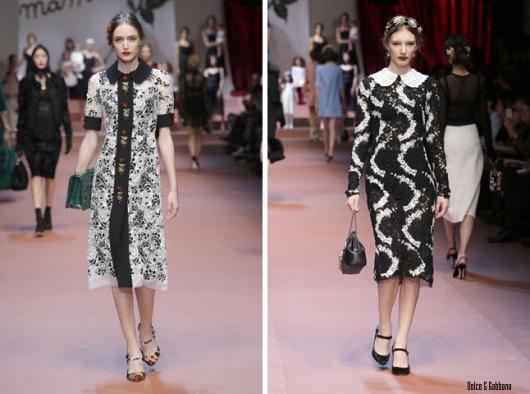 Черное и белое: модные тенденции сезона осень-зима 2015/16