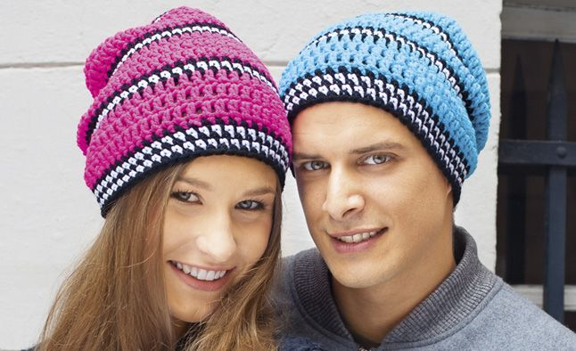 Вязание шапки крючком и схемы