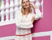 d565ba5d6e9 Ажурные вязаные платья  сама нежность - коллекция идей на Verena.ru