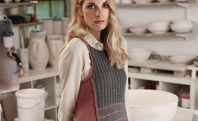 Схемы вязания платья спицами на зиму