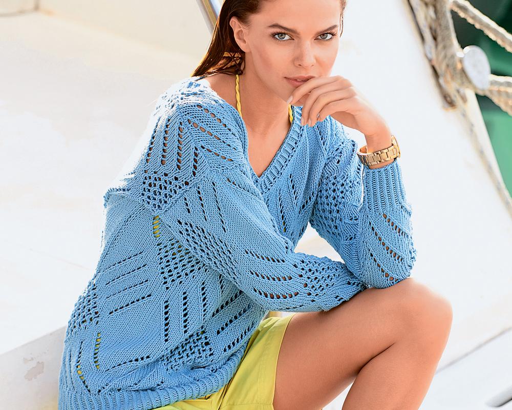 схема вязания Модели вязаной одежды: называем правильно