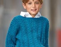 Вязание спицами орнамента для мальчика
