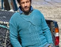 5ca706ae30fe Схемы вязания свитеров спицами косами для мужчин на Verena.ru