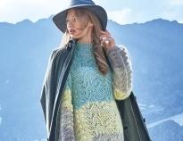aa27efcb29f074c Схемы вязания платьев спицами на зиму на Verena.ru