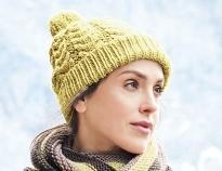 схемы вязания шапок спицами на Verenaru