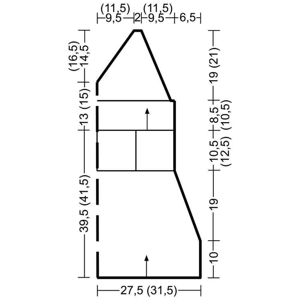 Набор начального ряда в вязании спицами 83
